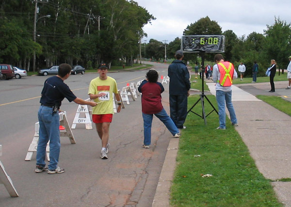 ADL Golden Mile Finish