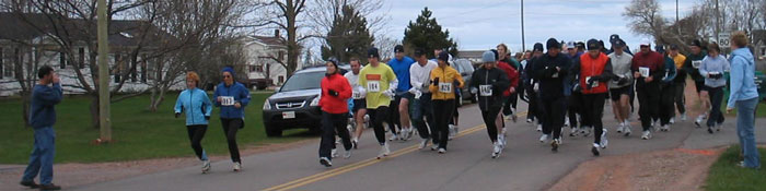 Clark's Toyota 5 Mile Start