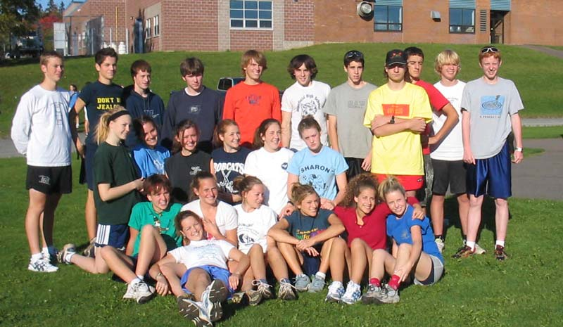The Bluefield Cross-Country Team