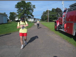 Miscouche Firemens 10 Mile finish