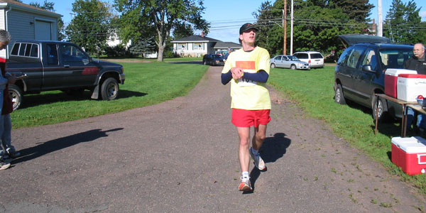 Miscouche Firefighters 10 Mile Finish