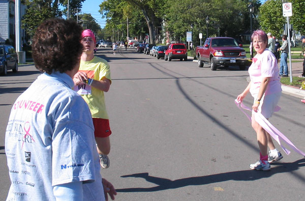 Run for the Cure Finish