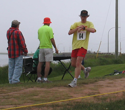 Souris Relay Open Run Finish