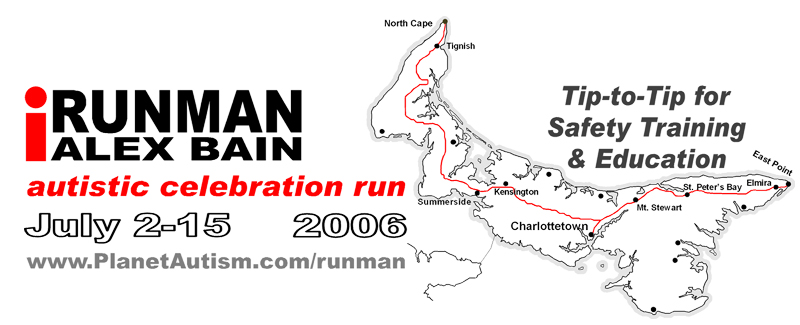 iRunman Autistic Celebration Run Tip-to-Tip for Safety-Training & Education