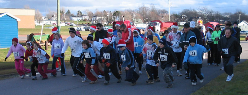 Souris Turkey Trot Start